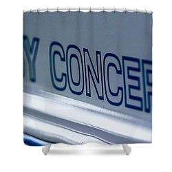 Birthday Car - Shelby Concepts Shower Curtain