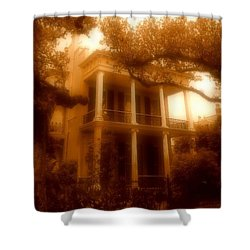 Birthplace Of A Vampire In New Orleans, Louisiana Shower Curtain