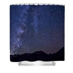 Bishop At Night Shower Curtain