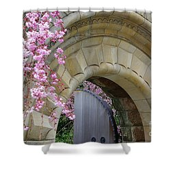 Shower Curtain featuring the photograph Bishop's Gate by John S