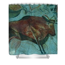 Bison Buffalo Shower Curtain by Unknown