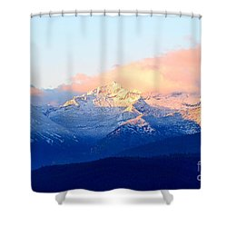Bitterroot Mountains Montana Shower Curtain by Joseph J Stevens