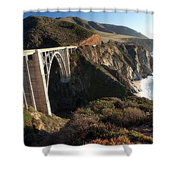 Bixby Bridge Afternoon Shower Curtain