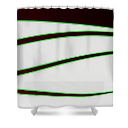 Shower Curtain featuring the photograph Black And Green by Joe Kozlowski