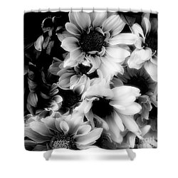 Black And White Shower Curtain by Kathleen Struckle