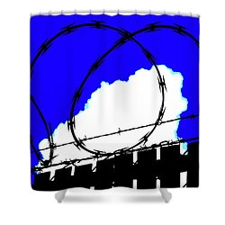 Shower Curtain featuring the photograph Black Barb by John King