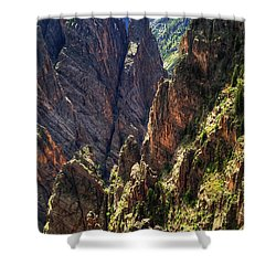 Black Canyon Of The Gunnison National Park I Shower Curtain