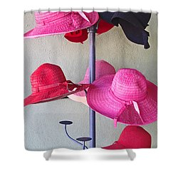 Black Chapeau Of The Family Shower Curtain