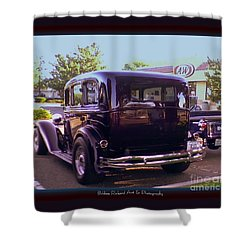 Shower Curtain featuring the photograph Black Jewel by Bobbee Rickard