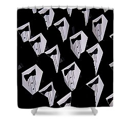 Black Tie Affair Shower Curtain