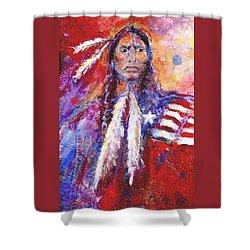 Blackfeet Shower Curtain