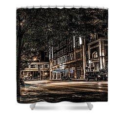 Blackhawk Hotel Shower Curtain by Ray Congrove