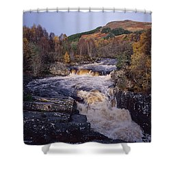 Blackwater Falls - Scotland Shower Curtain