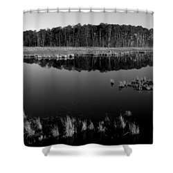 Blackwater  Shower Curtain