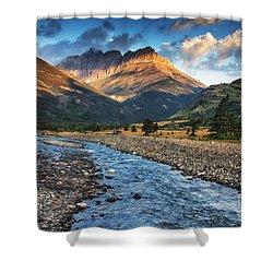 Blakiston Creek Shower Curtain