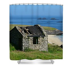Blasket Island Shower Curtain