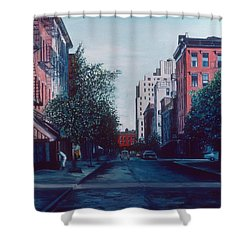 Bleeker Street Shower Curtain by Anthony Butera
