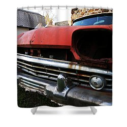 Blind Rambler Shower Curtain by Richard Reeve