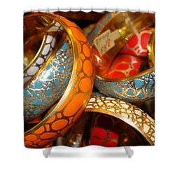 Shower Curtain featuring the photograph Bling by Ira Shander
