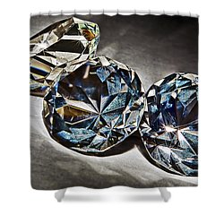 Bling Shower Curtain by Marcia Colelli