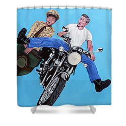 Blink Shower Curtain by Tom Roderick