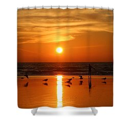 Bliss At Sunset   Shower Curtain