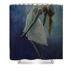 Bliss Shower Curtain by Dorina  Costras
