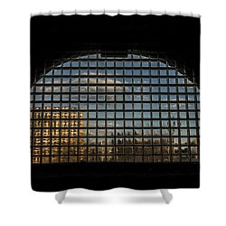 Block View Shower Curtain