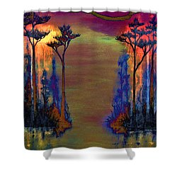 Blood Roots Shower Curtain