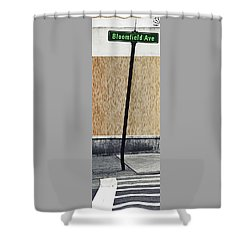 Shower Curtain featuring the photograph Bloomfield Ave by Kellice Swaggerty