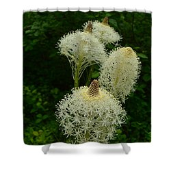 Blooming Bear Grass Shower Curtain