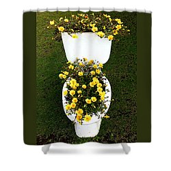 Blooming Loo Shower Curtain