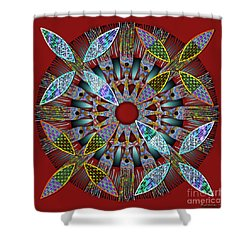 Blooming Mandala 2 Shower Curtain