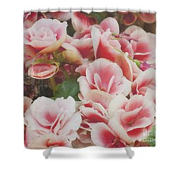 Blooming Roses Shower Curtain