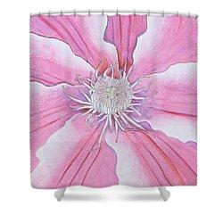 Blossom Shower Curtain by Sven Fischer