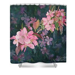 Blossoms For Sally Shower Curtain