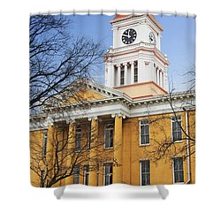 Blount County Courthouse Shower Curtain by Melinda Fawver