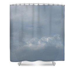 Blowing Smoke Shower Curtain