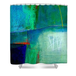 Blue #1 Shower Curtain by Jane Davies