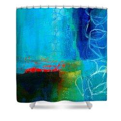 Blue #2 Shower Curtain by Jane Davies