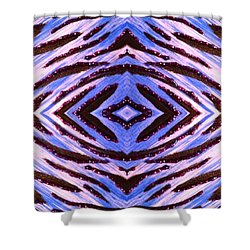 Blue 42 Shower Curtain by Drew Goehring