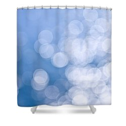 Blue And White  Shower Curtain by Elena Elisseeva