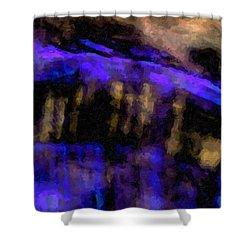 Blue Cliff Shower Curtain