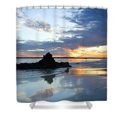 Corona Del Mar Shower Curtain