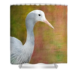 Blue Crane Shower Curtain