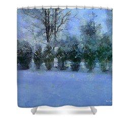 Blue Dawn Shower Curtain