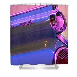 Blue Fin Shower Curtain