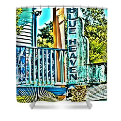 Blue Heaven In Key West - 1 Shower Curtain