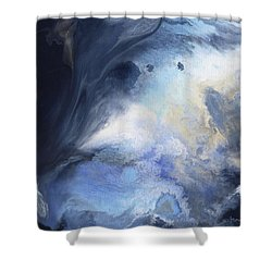 Blue Heavens Shower Curtain