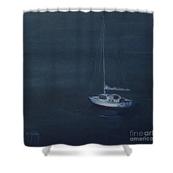 Blue Horizon Shower Curtain